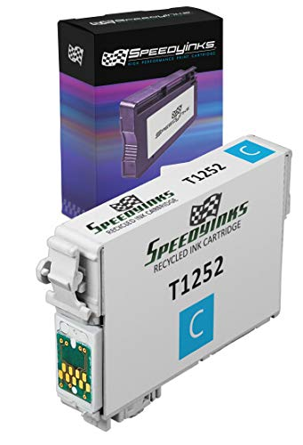 Speedy Inks Remanufactured Ink Cartridge Replacement for Epson 125 (Pigment Cyan)