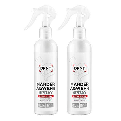 DFNT Marderspray EXTRA STARK für Auto & Haus | 500ml Marderabwehr Spray | Marder vertreiben | Marderfalle Lebenfalle & Marderschreck Alternative