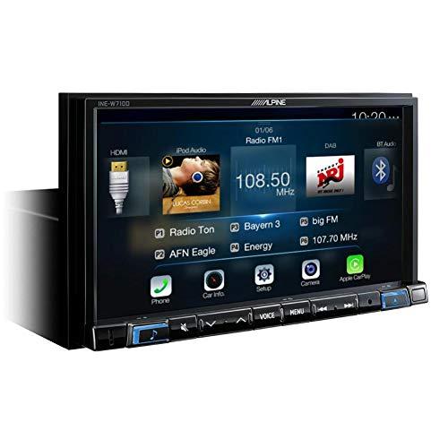Alpine INE-W710D Fisso 7' LCD Touch screen Nero navigatore
