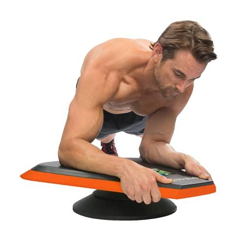 Stealth Core Trainer Personal - Entrenamiento dinámico abdominal, tabla de fitness interactiva con tecnología GamePlay para una espalda saludable y un núcleo fuerte (naranja)