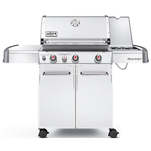 Weber Genesis 6570001 S-330 Stainless-Steel 637-Square-Inch 38,000-BTU Liquid-Propane Gas Grill