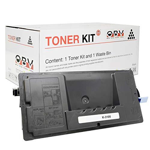 Cartucho de tinta reemplaza a Kyocera TK-3100 para FS 2100/FS-2100D/FS-2100DN/FS-4100DN/FS-4200DN/FS-4300DN, 12500 páginas en negro