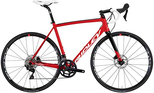 Ridley Bikes Fenix SLA 105 Disc red/White/Black Glossy Rahmenhöhe L | 60cm 2020 Rennrad