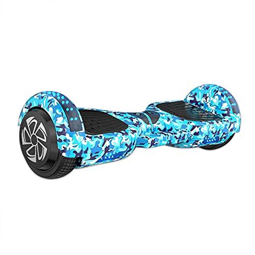 Hoverboards para Niños, Scooter Autoequilibrado, Patinetes Eléctricos con Altavoz Bluetooth, Ruedas Intermitentes, Hermosas Luces Led, Regalo para Niños Y Adolescentes