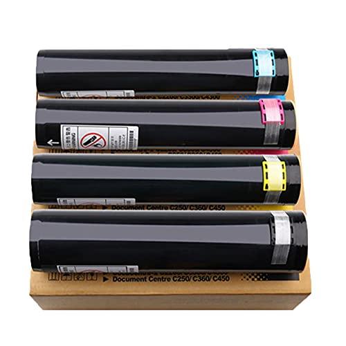 RRWW 106R00652 106R00653 106R00654 106R00655 Cartucho de tóner, tóner de repuesto para Xerox Document Centre 450 4300 3300 2200 4400 4405, paquete de 4