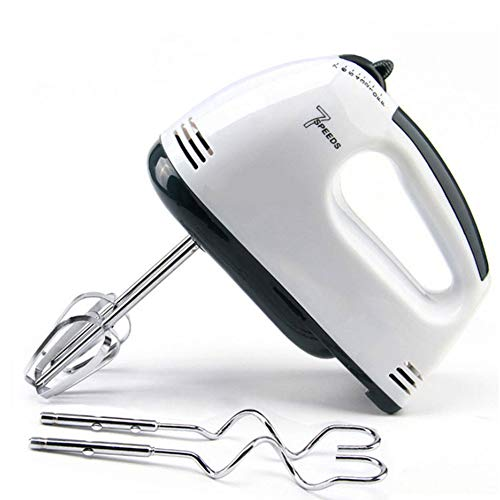 Tezam 7 Speed Hand Mixer Electric, Portable Kitchen Hand Held Mixer,Immersion Blender Whisk for Food Whipping,Egg Whisk,Cake Mixer,Milk Frother,Bread Maker,Beater