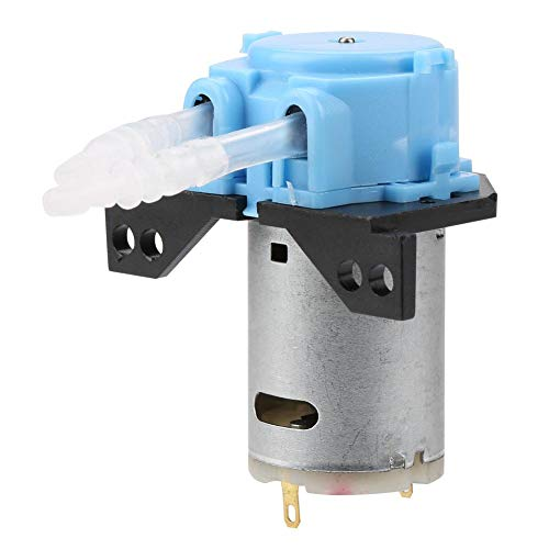 FTVOGUE Peristaltikpumpe DC12V / 24V Dosierpumpe DIY Peristaltikschlauchkopf für Aquarium Lab Chemische Analyse(blue12v 3 * 5)