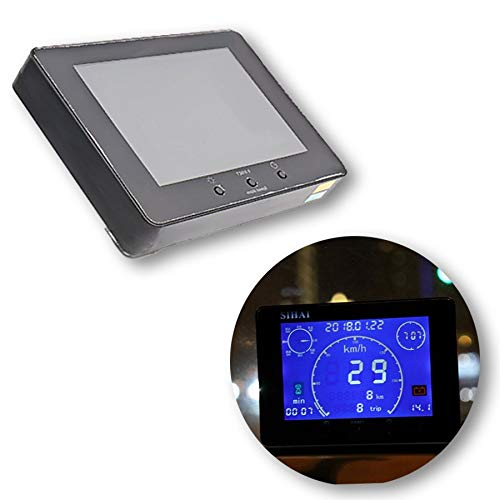 CAIZHIXIANG 12v / 24v multifunción de la señal GPS del Coche camión del odómetro del velocímetro Indicador de Tiempo del cronómetro del voltímetro Gauge