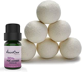 putting essential oils on dryer balls