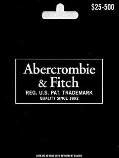 abercrombie and fitch gift card