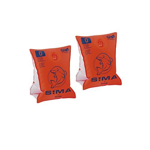 SIMA by Fashy Kinder Schwimmhilfe, orange, 0, 8302