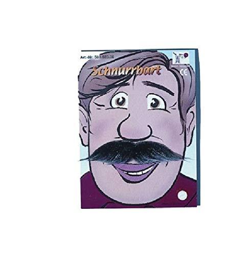 Mueller / Klassischer Schnurrbart: braun