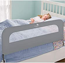 Summer Extra Long Folding Single Bedrail, Grey
