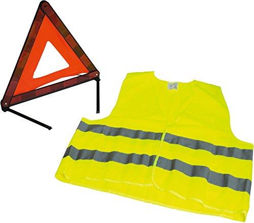 ALTIUM 954400triángulo de Advertencia y Kit de Hi-Vis Chaqueta Aprobado