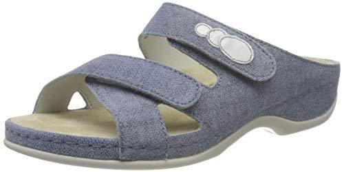 Berkemann Damen Felia Pantoletten, Blau (Jeansblau 346), 39.5 EU