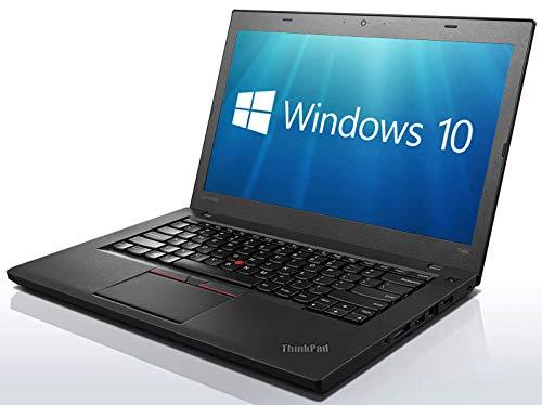 Lenovo ThinkPad T460 Ultrabook - Intel Core i5-6300U, 16 GB de RAM, disco SSD 256 GB, Webcam, WiFi, Bluetooth, USB 3.0, Windows 10 Pro (teclado AZERTY francés) (reacondicionado)
