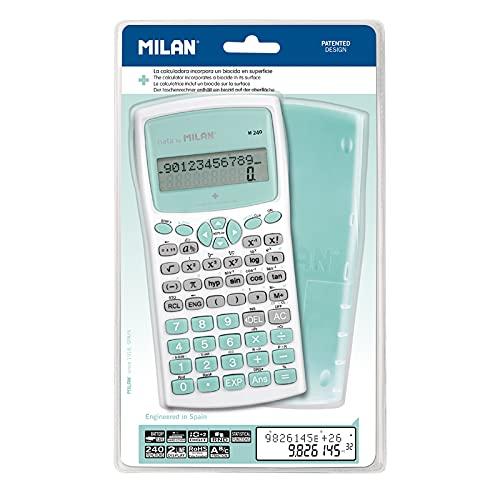 Blíster calculadora científica M240 Turquesa, Serie Edición +