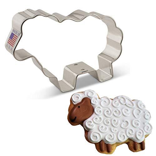 Ann Clark Cookie Cutters Sheep/Lamb Cookie Cutter, 3.5'