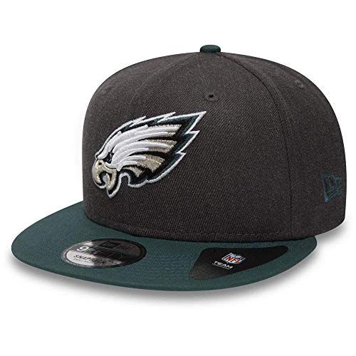 New Era Herren Cap NFL Heather 9fifty Phieag S Dunkelgrau