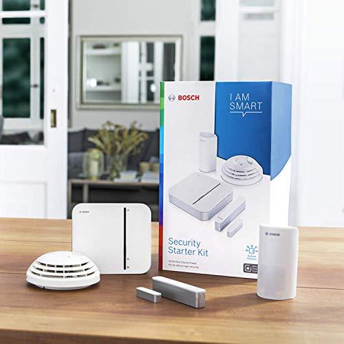 Bosch Smart Home Sicherheit Starter-Paket mit App-Funktion – EXKLUSIV für Deutschland, 4 Stück, 8750000006 - 2