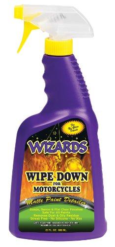 Wizards 22220 Wipe Down Motorcycle Matte Finish Detailer - 22 oz.