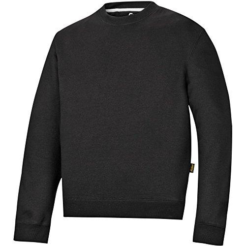 Snickers Rundausschnitt Sweatshirt schwarz Größe: L