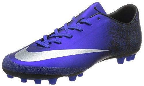 Nike Mercurial Victory V CR AG-R, Botas de fútbol para Hombre, Azul (Azul (DP Ryl Bl/Mtllc Slvr-Rcr Bl-Bl), 42 EU