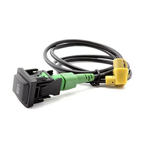Câble adaptateur USB pour voiture avec interrupteur pour Volkswagen RCD510 RCD 310 RNS315+ VW Golf Jetta MK6 Polo Touran Tiguan Scirocco
