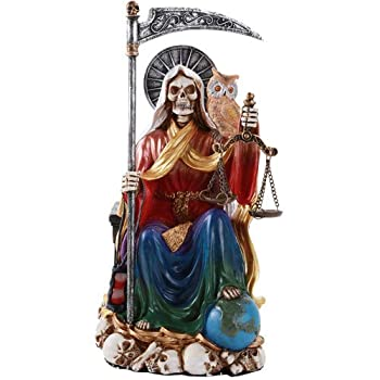 big santa muerte statue