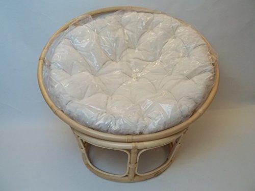 Sessel/Stühle Papasansessel, Liegeschale, Liegesessel für Kinder und Teenager, incl. Kissen aus Rattan, 100cm