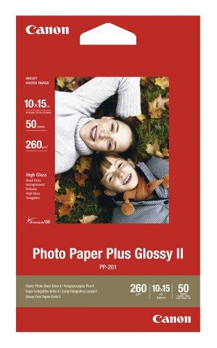 Canon Fotopapier PP-201 / 2311B003 / 10,0 x 15,0 cm / 260 g/m² hochglänzend