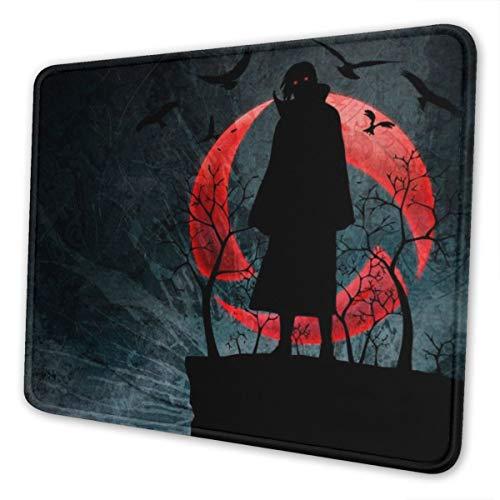 Naruto Zabuza Momochi - Alfombrilla de ratón para ordenador portátil, bordes cosidos para oficina, 8,3 x 10,3 pulgadas