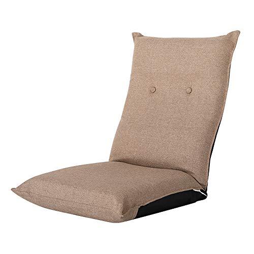 C-K-P Canapé, canapé-lit simple, chambre à coucher pliante, balcon, baie vitrée, chaise (Couleur : Kaki)