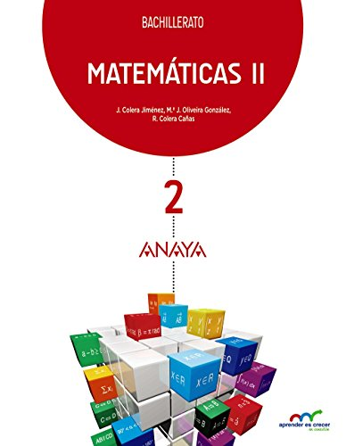Matemáticas II. (Aprender es crecer en conexión)   9788469812778