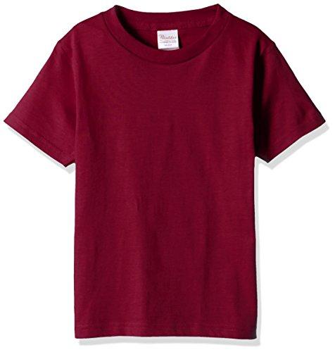 プリントスター 半袖 5.6オンス へヴィー ウェイト Tシャツ 00085-CVT キッズ バーガンディ 日本サイズ 160cm