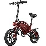 ANCHEER Electric Bike Electric Commuter Bike 500W Ebike 14''...