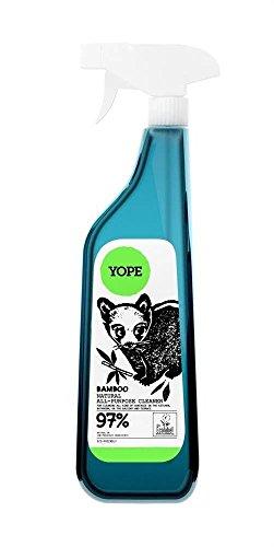 YOPE - Multifunktionsreiniger mit grünem Bambus-Extrakt - Für verschiedene Oberflächen geeignet - Anti-statisch - EcoBio - Biologisch abbaubar - 750 ml