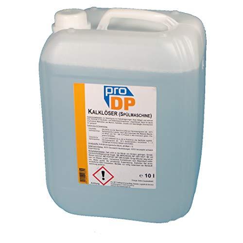 10l Kanister Pro DP Profi Maschinenentkalker Kalklöser Reiniger Kalk- und Schmutzlöser Entkalker für Spülmaschinen (Haushalt & Gewerbe) - Made in Germany