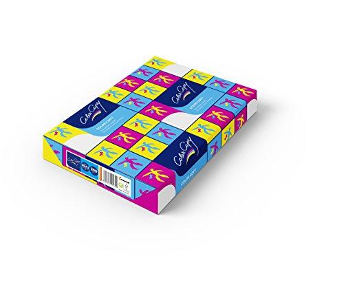 Color Copy Laserdruckpapier, leicht satiniert, ECF, 350 g/m², 125 Blatt Weiß, SRA3 (45x32cm)