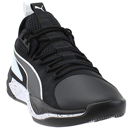 PUMA Mens Uproar Hybrid Court Core Basketball Shoes Basketball Casual Shoes, Black, 15