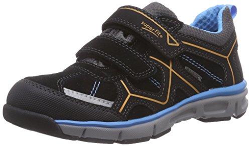 Superfit LUMIS 500411, Jungen Sneakers, Schwarz (SCHWARZ KOMBI 02),  26 EU