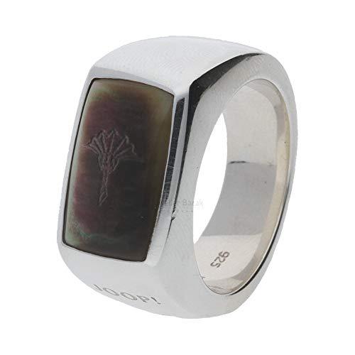 Joop! Ring Silber mit Perlmutteinlage 925/000 JJ0563 Größe 61