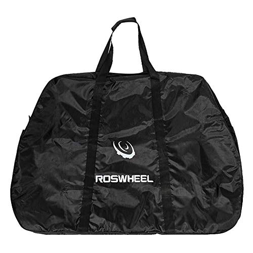 Lzdingli Sportausrüstung Tragbare Bike Cargo Bag for Mountain Road Fahrrad für Outdoor-Sportler (Color : Schwarz, Size : M)