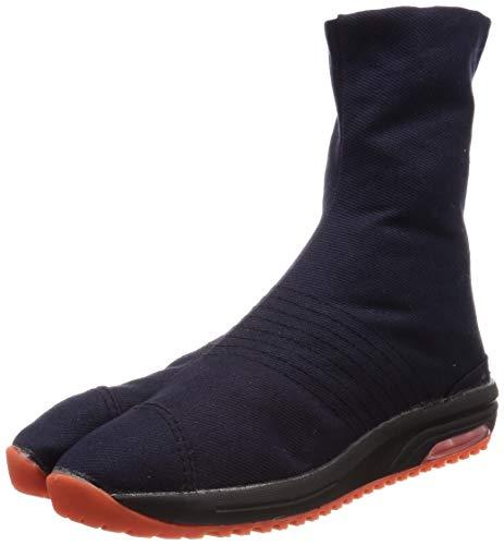 [マルゴ] 地下足袋 祭りたび エアークッション 2E エアージョグV(ファイブ) 6枚 藍 31.0 cm