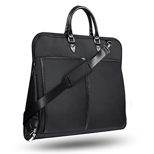 Wenter.S Anzugtasche zur knitterfreien Aufbewahrung Ihres Anzugs Premium Reise Kleidersack mit extra viel Platz Schmutz & Wasserabweisende Hemdentasche Anzug Reisetasche