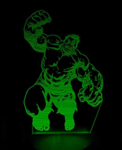 Hulk Smash 3D night light