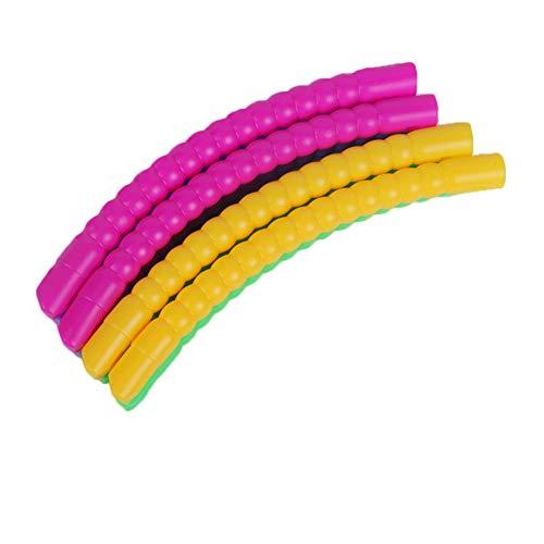 Fhogan - Anillo de ejercicio para pérdida de peso de la cintura, de espuma extraíble, anillo de ejercicio para yoga, adelgazar, 40 cm