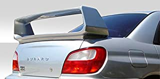 Brightt Duraflex ED-AMU-370 STI Look Wing Trunk Lid Spoiler - 1 Piece Body Kit - Compatible With Impreza 2002-2007