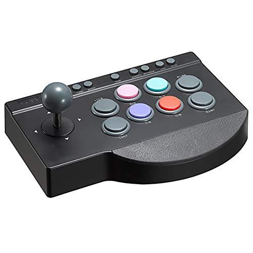THDFV Joystick de Juegos para Fighting Arcade, Juego de Agarre Compatible con computadora/computadora portátil // PS3 / 4 / Box One/Android/Switc, Controlador de Juegos para Regalos