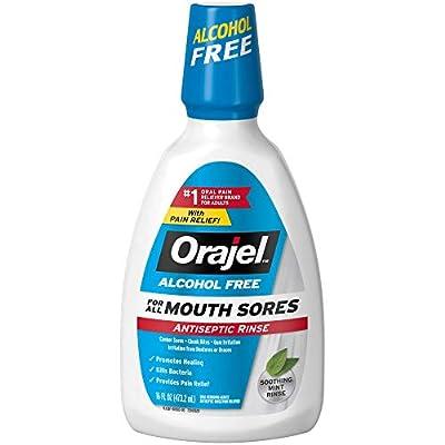 Orajel Alcohol Free Antiseptic